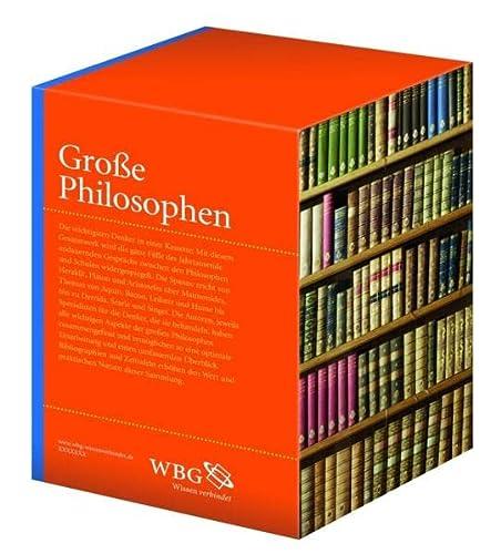 9783534233007: Gro�e Philosophen: Philosophen des Altertums / Philosophen des Mittelalters / Philosophen des 18. Jahrhunderts / Philosophen des 19. Jahrhunderts / Philosophen der Gegenwart