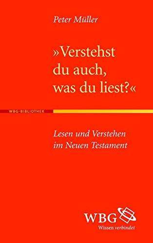 Verstehst du auch, was du liest?: Peter Müller