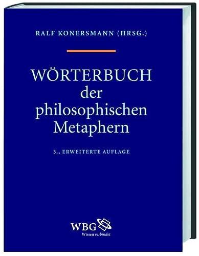 9783534236244: Wörterbuch der philosophischen Metaphern (WPM)