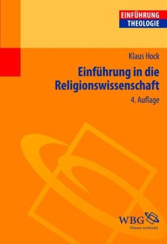 9783534246649: Einführung in die Religionswissenschaft