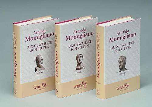 Geschichte und Geschichtsschreibung. 3 Bände: Arnaldo Momigliano