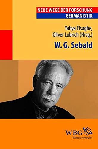 9783534246922: W.G. Sebald