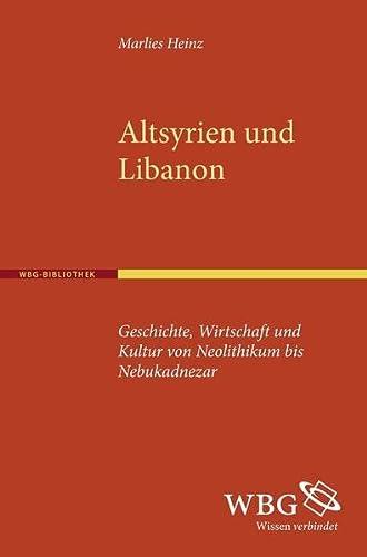 Altsyrien und Libanon: Marlies Heinz