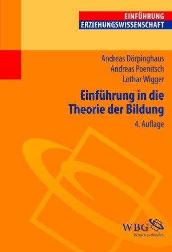 9783534253388: Einführung in die Theorie der Bildung