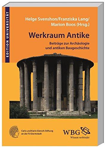 Werkraum Antike: Helge Svenshon