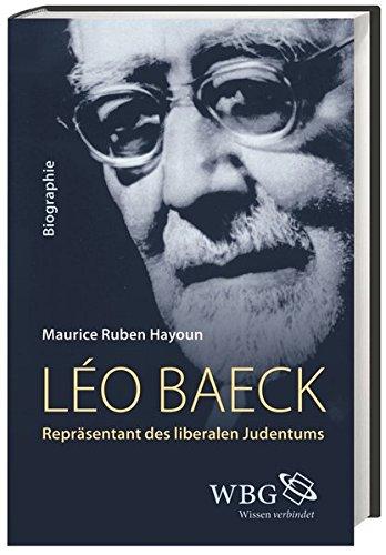 Leo Baeck. Repräsentant des liberalen Judentums. Aus: HAYOUN, Maurice-Ruben,