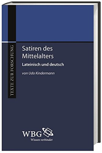 Satiren des Mittelalters: Udo Kindermann