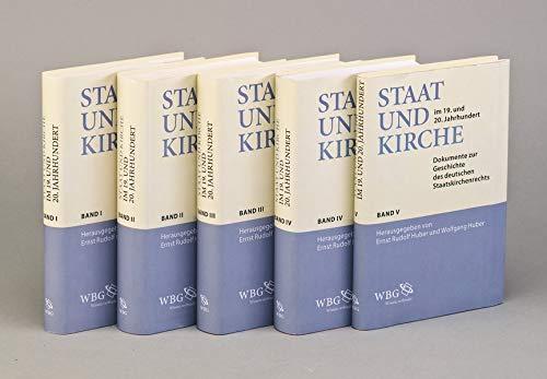 Staat und Kirche im 19. und 20. Jahrhundert: Wolfgang Huber