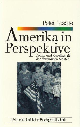 9783534800537: Amerika in Perspektive. Politik und Gesellschaft der Vereinigten Staaten