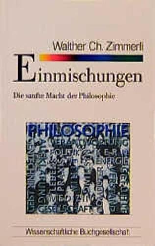 WB-Forum, Bd.83, Einmischungen: Ch. Zimmerli, Walther: