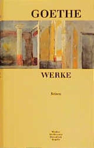 Werke. Band VI. Reisen.: Goethe Johan Wolfgang