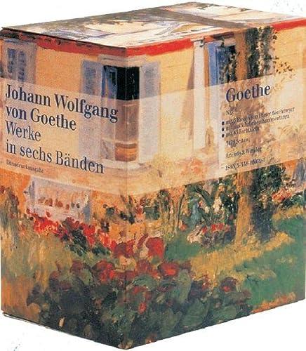 Werke in sechs Bänden Nach dem Text der Artemis-Gedenkausgabe der Werke Goethes. Dünndruckausgabe - Goethe