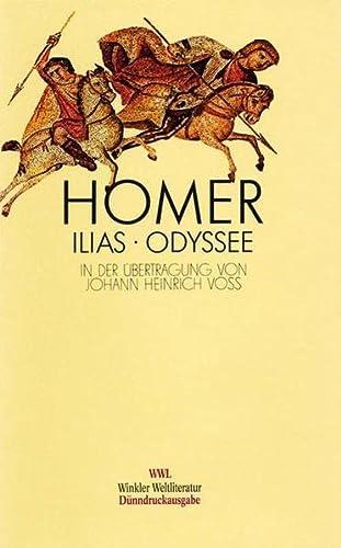 9783538051171: Ilias / Odyssee