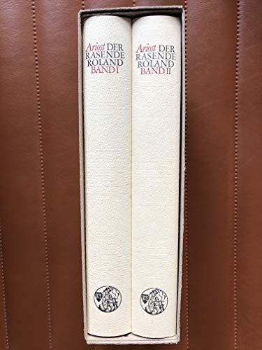 Der rasende Roland (in 2 Bänden), Band: Ariost. [d.i. Ludovico