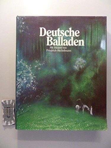 Deutsche Balladen: Pornbacher Karl, Hrsg, Hechelmann Friedrich, Bilder