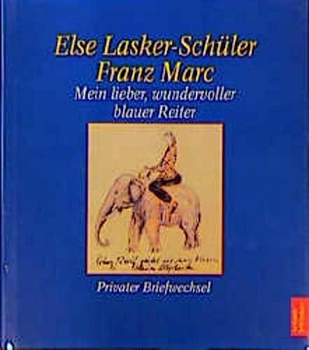 9783538068209: Mein lieber, wundervoller blauer Reiter: Privater Briefwechsel