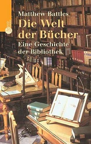 9783538071650: Die Welt der Bücher