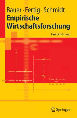 9783540000419: Empirische Wirtschaftsforschung: Eine Einf�hrung (Springer-Lehrbuch)