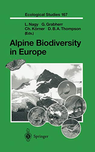 9783540001089: Alpine Biodiversity in Europe (Ecological Studies)