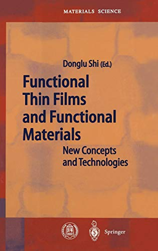 Functional Thin Films and Functional Materials: Donglu Shi