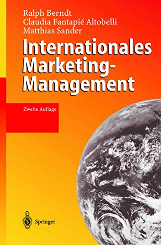 9783540002093: Internationales Marketing-Management (German Edition)