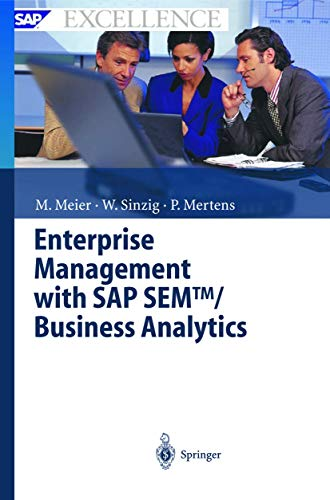 9783540002536: Enterprise Management with SAP SEM/Businessanalytics (Sap Excellence)