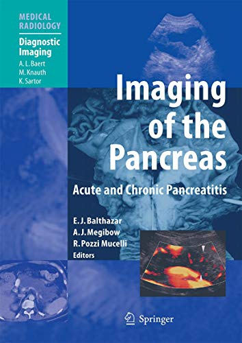 9783540002819: Imaging of the Pancreas: Acute and Chronic Pancreatitis (Medical Radiology)