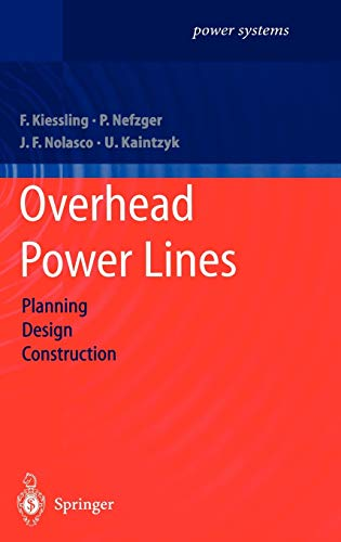9783540002970: Overhead Power Lines: Planning, Design, Construction (Power Systems)