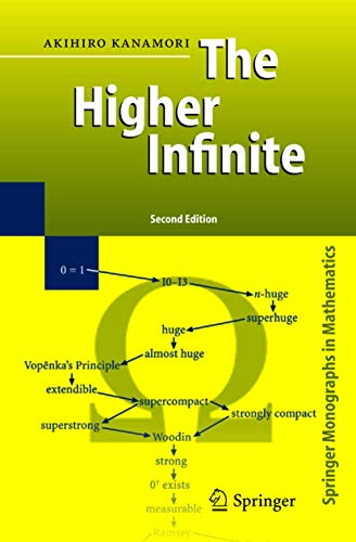 9783540003847: The Higher Infinite: Large Cardinals in Set Theory from Their Beginnings (Springer Monographs in Mathematics)