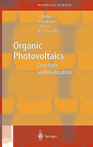 Organic Photovoltaics: Christoph Brabec