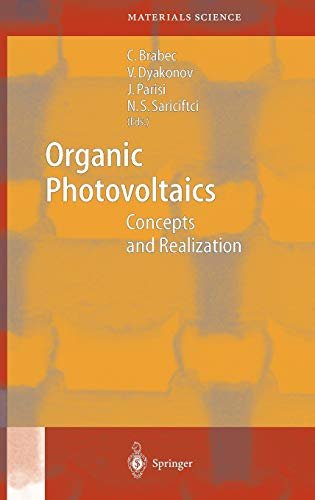 9783540004059: Organic Photovoltaics: Concepts and Realization (Springer Series in Materials Science)