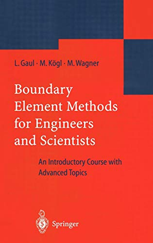 9783540004639: Boundary Element Methods for Engineers and Scientists: An Introductory Course with Advanced Topics