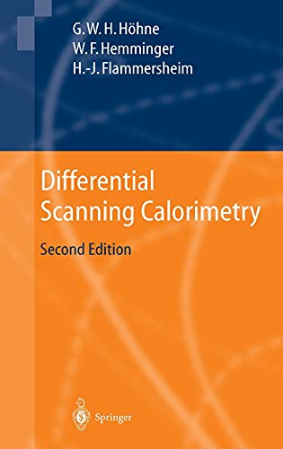 9783540004677: Differential Scanning Calorimetry: An Introduction for Practitioners
