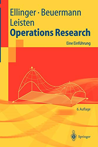 9783540004776: Operations Research: Eine Einführung (Springer-Lehrbuch) (German Edition)