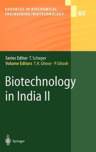 Biotechnology in India II (Advances in Biochemical: Ghose, Tarun K.