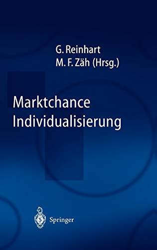9783540005940: Marktchance Individualisierung