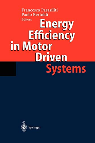 9783540006664: Energy Efficiency in Motor Driven Systems