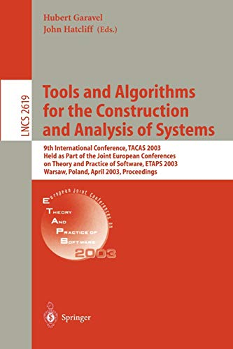 Tools and Algorithms for the Construction and: Editor-Hubert Garavel; Editor-John