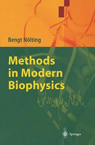 9783540012979: Methods in Modern Biophysics