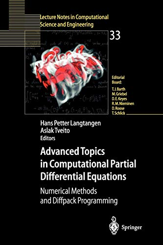 9783540014386: Advanced Topics in Computational Partial Differential Equations: Numerical Methods and Diffpack Programming (Lecture Notes in Computational Science and Engineering)