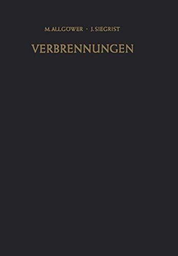 9783540021148: Verbrennungen: Pathophysiologie · Pathologie · Klinik · Therapie (German Edition)