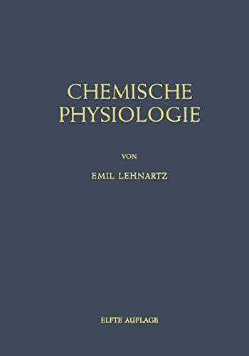 9783540024378: Einfã Hrung in Die Chemische Physiologi