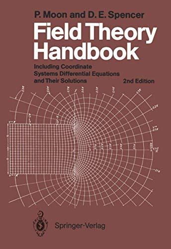 9783540027324: Field Theory Handbook: Including Coordinate Systems, Differential Equations and Their Solutions