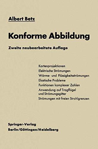 9783540031000: Konforme Abbildung (German Edition)