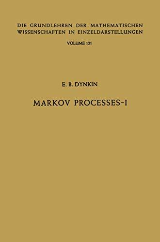 9783540033011: Markov Processes (Grundlehren der mathematischen Wissenschaften, Vol. 121) (2 Volumes)