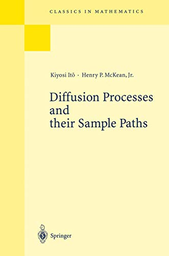 9783540033028: Diffusion Processes and Their Sample Paths.
