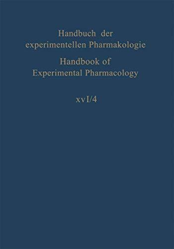 9783540033059: Erzeugung von Krankheitszuständen durch das Experiment: Teil 4: Niere, Nierenbecken, Blase (Handbook of Experimental Pharmacology) (German Edition)