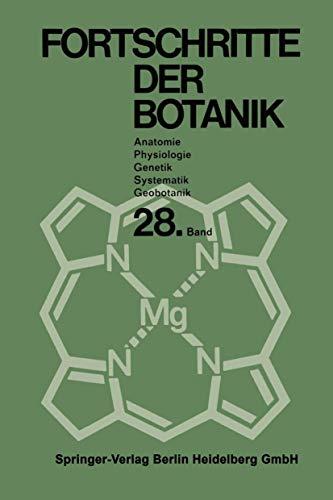 9783540035046: Fortschritte der Botanik: Begründet von Fritz von Wettstein (Progress in Botany) (German Edition)