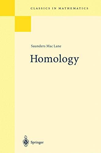 9783540038238: Homology (Grundlehren der mathematischen Wissenschaften)