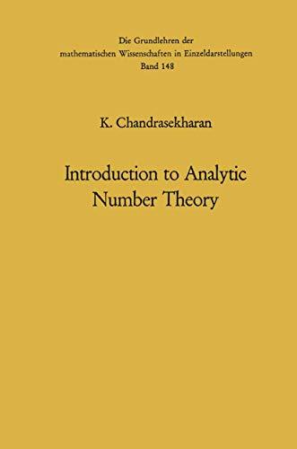 9783540041412: Introduction to Analytic Number Theory (Grundlehren der mathematischen Wissenschaften)